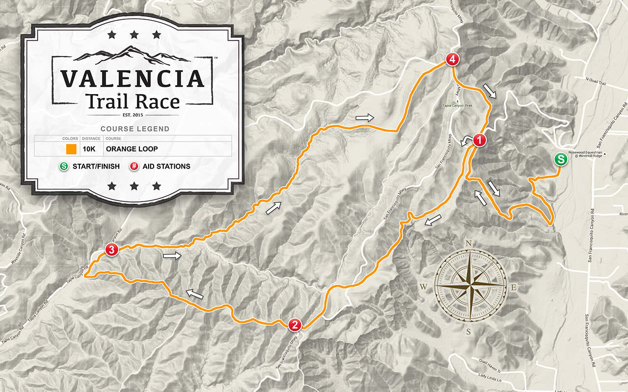 VALENCIA Trail Race - 10K Course