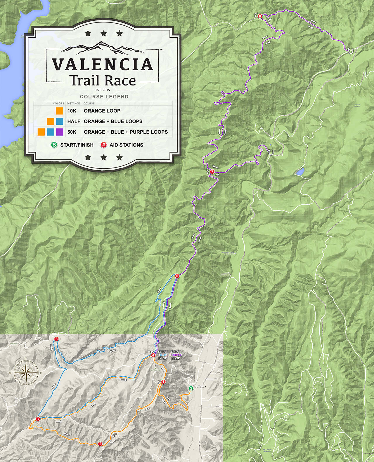 VALENCIA Trail Race - 50K Course