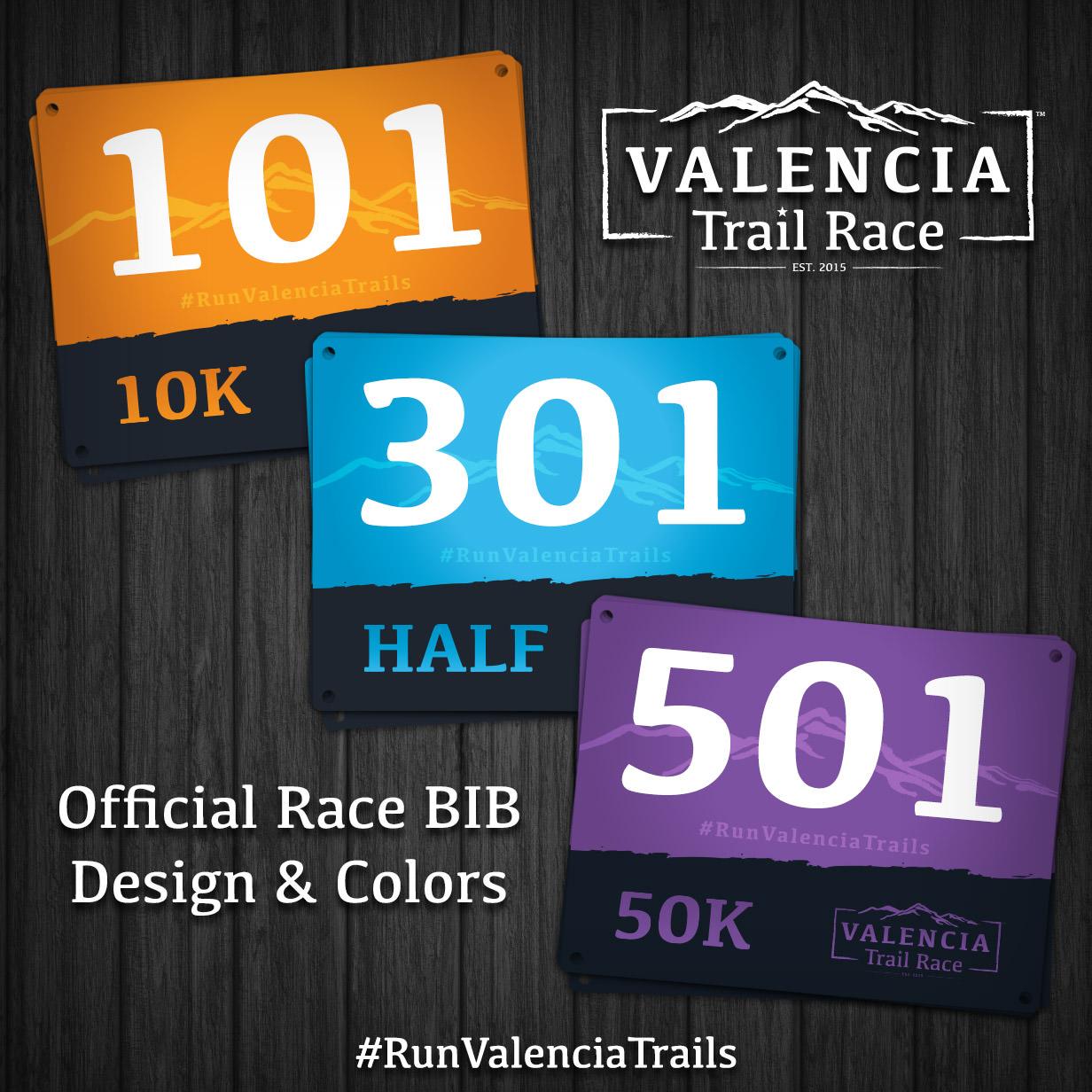 Official Race BIB Design & Colors