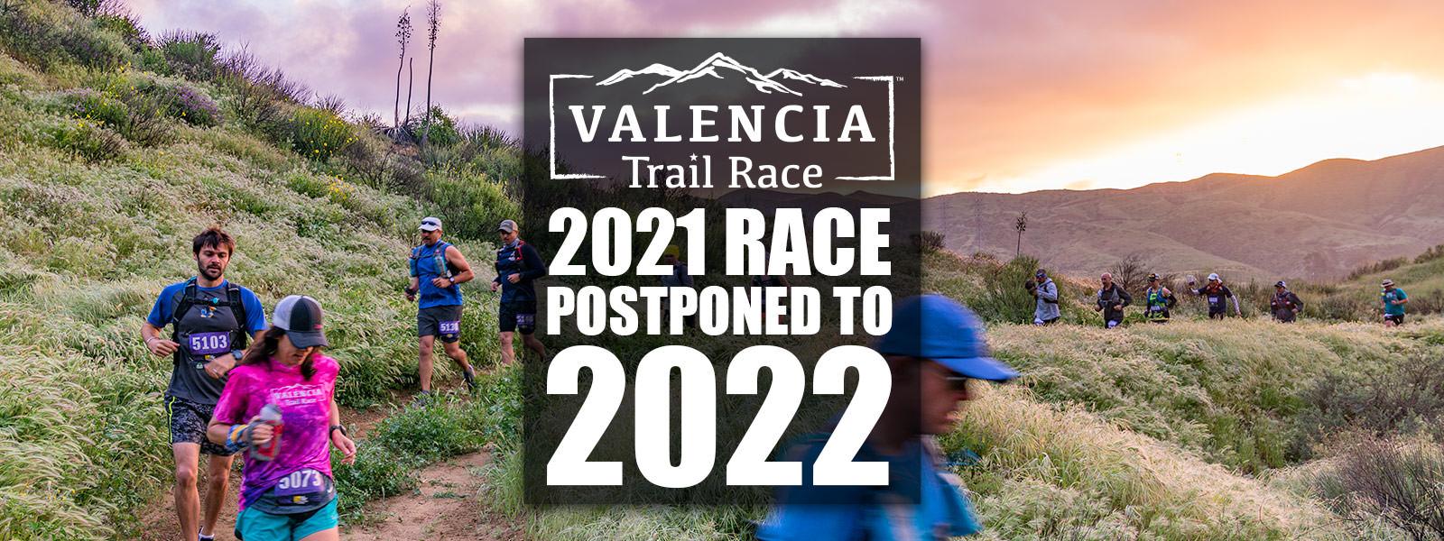Race Postponed to 2022